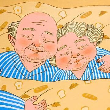 你老去還會在我身旁嗎?  韓國插畫家畫出銀髮夫妻日常