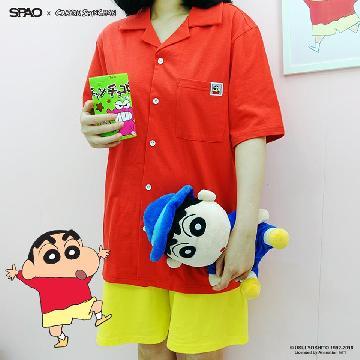 小新迷請注意! 韓國、馬來西亞SPAO新推蠟筆小新系列商品