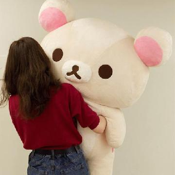 附送企鵝公仔!日本San-x推出1米高Korilakkuma白熊公仔