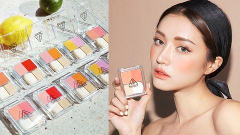 【韓國化妝品】3CE推出雙色胭脂!一盒有齊3種顏色/教你刷出超美漸層
