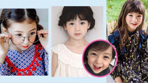 一雙甜美笑眼電力十足!7歲韓美混血小蘿莉Ellie爆紅網絡