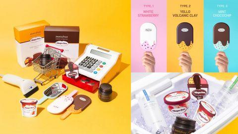 韓國innisfree X Häagen-Dazs!推出夏日護膚品套裝、鏡子!