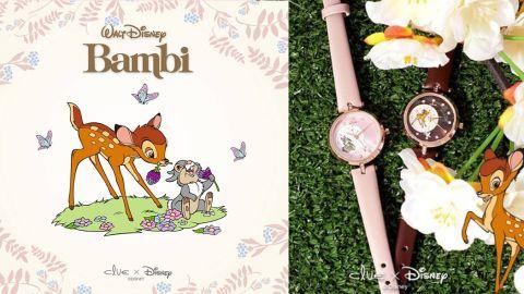 小鹿斑比配玫瑰金飾物!韓國CLUE聯乘迪士尼推出Bambi Collection