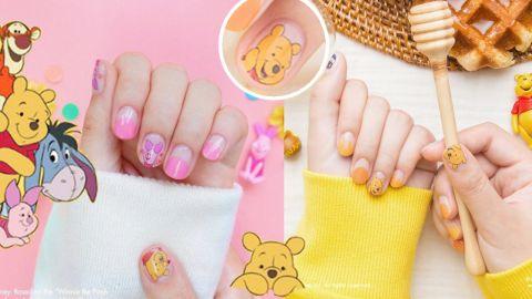 【美甲】小熊維尼和朋友們!韓國Gelato Factory聯乘推出可愛指甲貼!
