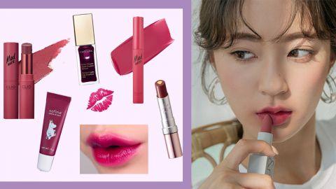 【唇膏】像莓果醬般!顏色超顯白!散發成熟魅力!精選紫紅色調唇部產品