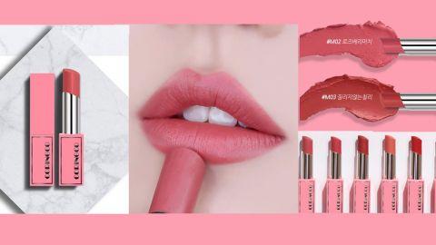 【韓國化妝品】妝感柔霧、同時保濕滋潤!CORINGCO推出8款超美玫瑰色唇膏