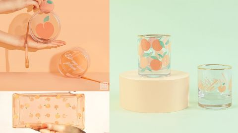 蜜桃氣息來襲!韓國daiso推出Peach Lover系列