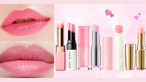 8款潤色護唇膏合集!預防乾紋、死皮!增添粉嫩好氣息!素顏、淡妝都適用!