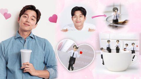 韓國新推5款「國民老公」孔劉杯緣子!縮小版男神!給你滿滿的工作動力!