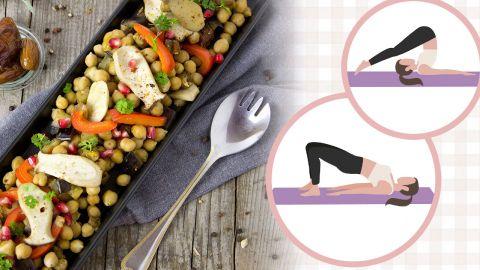 【減肥心得】扁平小腹靠清宿便?睡前做這2個瑜伽動作+清腸胃餐單公開!