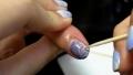 簡單soak off gel nail art tutorial
