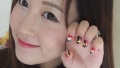 Bubzbeauty教您美甲DIY-Sunset Silhouette Nails