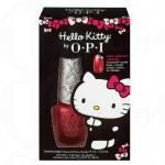 O.P.I 限量版Hello Kitty明亮艳丽鲜红色套装